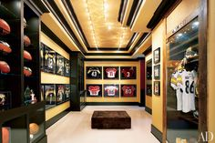 Dream Home Decorating Ideas: Tatami Room, Home Spa, Screening Rooms Home Spa Room, Spa Rooms, Architectural Digest, Trophy Display, Tatami Room, Modern Home Bar, Trophy Rooms, Design Your Dream House, Game Room Decor