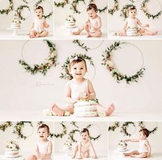 Baby girl photo session.