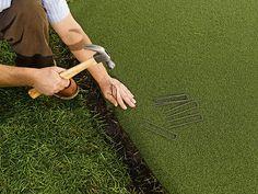 Putting Green Turf, Home Putting Green, Artificial Putting Green, Outdoor Putting Green, Front Garden Landscape, Lawn And Garden, Bermuda Grass, Golf Green, Swimming Pools Backyard