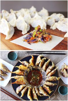 Yaki Gyōzas – Japanese Pan-fried Dumplings. Serves 4. This healthy, vegan recipe for Japanese-style gyoza is our version of the popular, savory potstickers served in ramen and noodles shops!