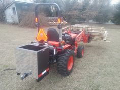 Ballast on B2601 3 Point Attachments, Tractors, Monster Trucks, Vehicles, Car, Vehicle, Tools