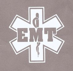 Female EMT Paramedic CPR Pink Non-Reflective Cute Decal Sticker