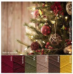 Crochet christmas afghan color schemes Ideas for 2019 Yarn Color Combinations, Colour Schemes, Color Patterns, Yarn Inspiration, Colour Pallette, Color Balance, Yarn Colors, Christmas Colors, Color Theory