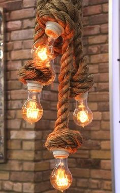 Happy thanksgiving and original manila rope lights by atelier 688 diy nautical rope light great fixture for entry way overhead aloadofball Choice Image