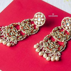 Why to go shopping when you can find such beautiful and pretty pair of earrings here itself? Find this golden and pearl design at Aquamarine. #aquamarine_jewellery #jewellery #golden #delightful #elegant #earrings #fashionjewellery #style #fashion #lookbook #jewellerylove #fashionista #khanmarket16 #delhi #lokhandwala #bandra #colaba #mumbai #india #aquamarinejewellery