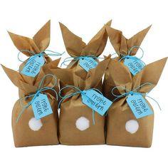 pour emballer Les Cadeaux des Enfants et des Adultes Papierdrachen Sacs-Cadeaux de P/âques /à fabriquer et remplir soi-m/ême avec color/é Lapin de P/âques