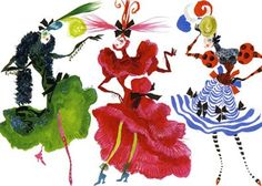 illustrations and designs of Christian Lacroix, admire his way of combining collor and textiles Christian Lacroix, Fashion Prints, Fashion Art, Fashion Show, Runway Fashion, Collor, Fashion Sketches, Fashion Illustrations, Vintage Illustrations