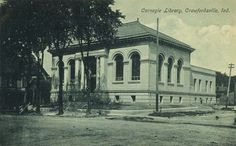 Library 1904 Crawfordsville in