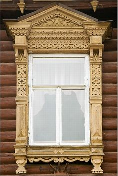 Myshkin town, Russia windows frames view 25