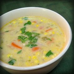 DINNER TONIGHT creamy mexican turkey soup! need to make this tomorrow with leftover turkey