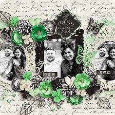 ca - Scrapbook.com...adore the black & white with a splash of color!
