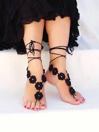 Resultado de imagem para barefoot crochet