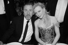 Tim Roth et Nicole Kidman en robe Armani Privé au dîner d'ouverture du Festival de Cannes après la projection officielle du film Grace de Mo...