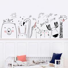 Baby Bedroom, Baby Room Decor, Nursery Room, Girls Bedroom, Kids Wall Murals, Diy Wall Painting, Bohemian Bedroom Decor, Princess Room, Kids Room Design