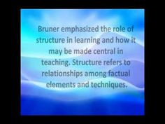 jerome bruner's constructivism theory:) - YouTube