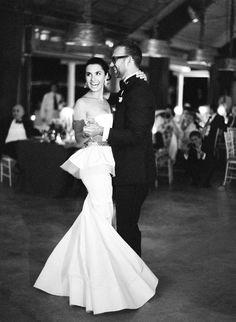 Gorgeous Oscar de la Renta Gown.  Photo by Jose Villa.