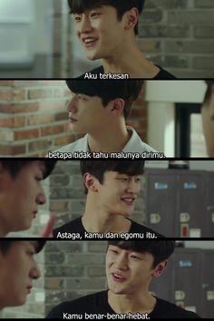 Quotes Drama Korea, Drama Quotes, Movie Quotes, Crazy Funny Memes, Wtf Funny, Kdrama, Haha, Boyfriend, Motivation