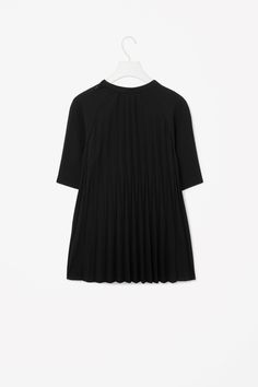 Raw-edge pleated top $49 Cos