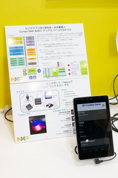 Fusion/Context demo : NXP at IAR booth @ Embedded Systems Expo & Conference in Tokyo (ESEC) 2015 (13..15-May-2015)