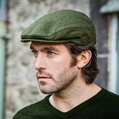 Irish ivy green cap suitable for both male and female. Works well for both  casual 9d9463229e48