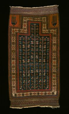 Culture Baluchi people Creation date about 1870 Collection Textiles Materials wool Dimensions 57 x 30 in.