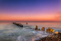 Bembridge Wave Break by Nigel Hamer.