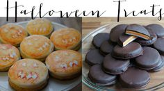 Pumpkin Ginger Biscuits & Homemade Halloween Peppermint Patties -- perfect for a spooky and sweet holiday! - Live. Laugh. Cook.