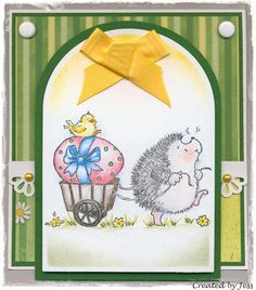 k,Penny Black Easter march 40-059 Jess's crafty Things. kick stand card for Easter I have this stamp