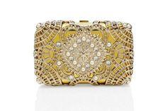 Gold Embellished Clutch :)
