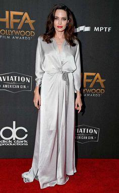 Angelina Jolie: 2017 Hollywood Film Awards: Red Carpet Fashion