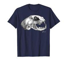 Cat Skull, Cat Shirts, Bob, Amazon, Mens Tops, Fashion, Moda, Amazons, Bucket Hat