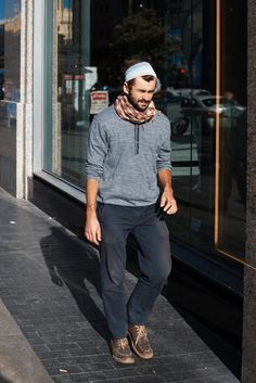 http://chicerman.com  billy-george:  Casual  Photo from Men in this Town  #streetstyleformen