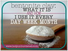 Bentonite clay: what it is and