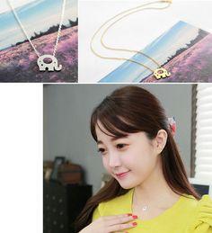 Little Elephant Necklace – StarryCloset