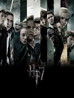 Characters from the last Harry Potter movie. HP & the Deathly Hallows Harry Potter Love, Harry Potter Universal, Harry Potter World, Bae, Maggie Smith, Yer A Wizard Harry, Albus Dumbledore, Severus Snape, Draco Malfoy