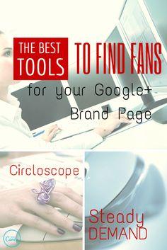The Best Tools to Find Fans #crazysocialmediatips #socialmediatips #google+tips