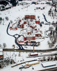 formerly the Western Virginia Lunatic Asylum, now the 'Villages at Staunton' by Virginia Aerial Photography