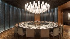 The Chinese Restaurant Private Room Luxury Restaurant, Restaurant Concept, Chinese Restaurant, Restaurant Design, Private Dining Room, Luxury Dining Room, Traditional Chinese House, Hotel Inn, Chinese Interior