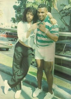Rick James and Mike Tyson (1990)