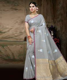 Chanderi Silk Chanderi Silk Saree, Silk Sarees, Blouse, Blouses, Woman Shirt