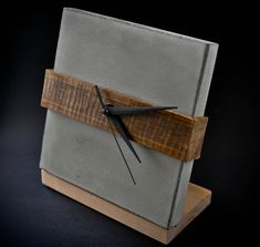Time Square Concrete clock