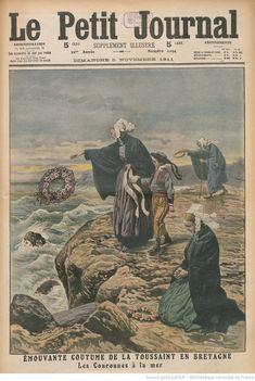 Vintage Magazine, French Magazine, Breizh Ma Bro, Celtic, Heroic Age, Magazin Covers, Retro Aesthetic, Illustrations, Belle Epoque