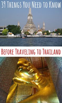 39 Things You Need to Know Before Traveling to Thailand #travel #tips