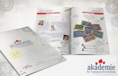 Gestaltung einer 16-seitigen Broschüre