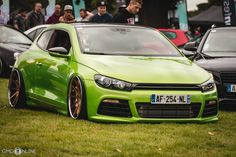 Extremely clean VW Scirocco. | StanceNation™ // Form > Function Scirocco Tuning, Vw Scirocco, Vw Passat, Custom Muscle Cars, Custom Cars, Sports Wagon, Car Camper, Street Racing Cars, Vw Cars