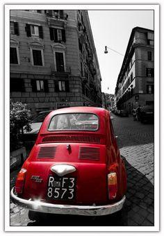 #FIAT #500 #madeinitaly #car