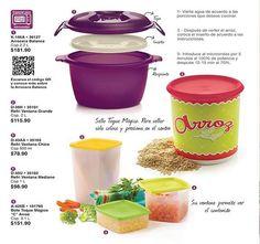 Prepara un delicioso arroz o conservalo en buen estado por mucho tiempo https://www.facebook.com/TupperwareTampicoClaridad