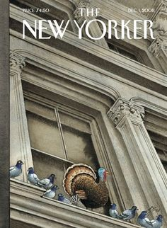 The New Yorker | Thanksgiving cover of The New Yorker by Harry Bliiss