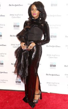 """Janelle Monae from Gotham Independent Film Awards 2016 Red Carpet Arrivals  The """"Electric Lady"""" singer prepares for a busy award show season."""