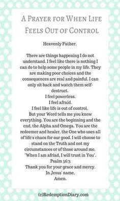 I feel powerless